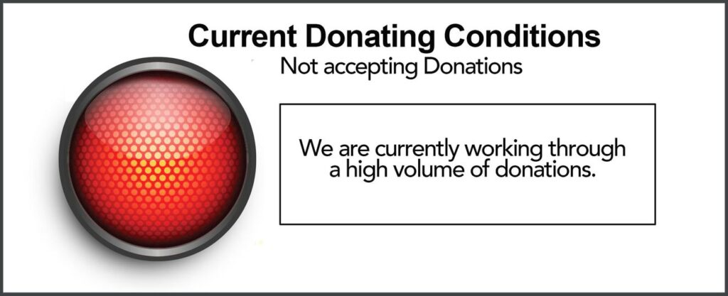 Donations NOT open.