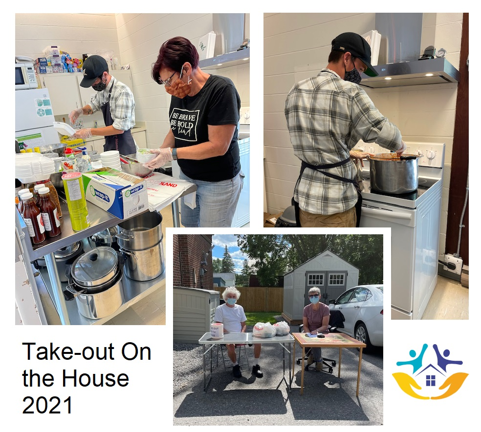 Take-out on the House